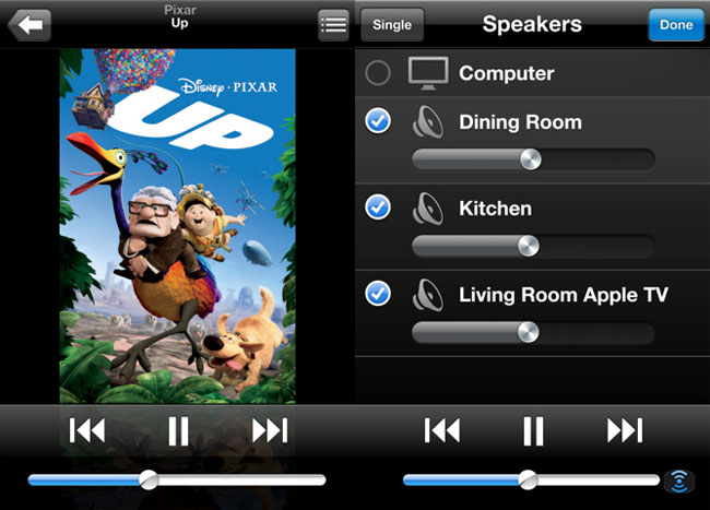 Apple universal touchscreen remote