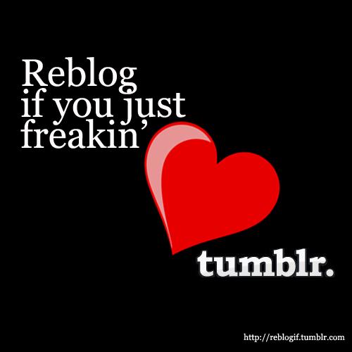 ReBlog - Tumblr button created to repost content
