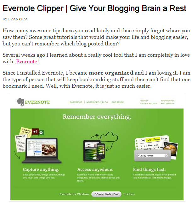 how to give your blogging brain a rest