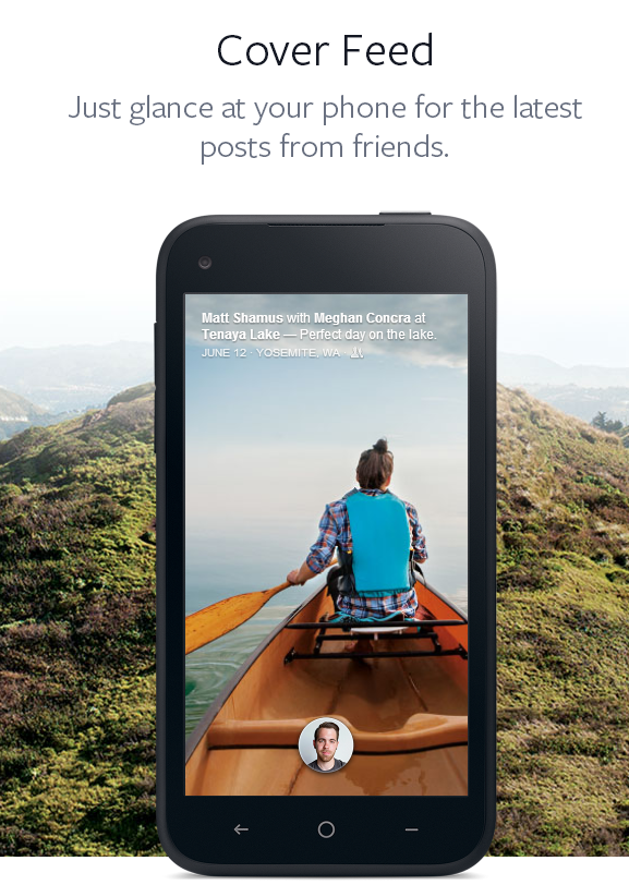 image facebook home phone