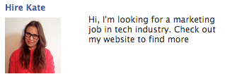 Hire Kate - Facebook Ads