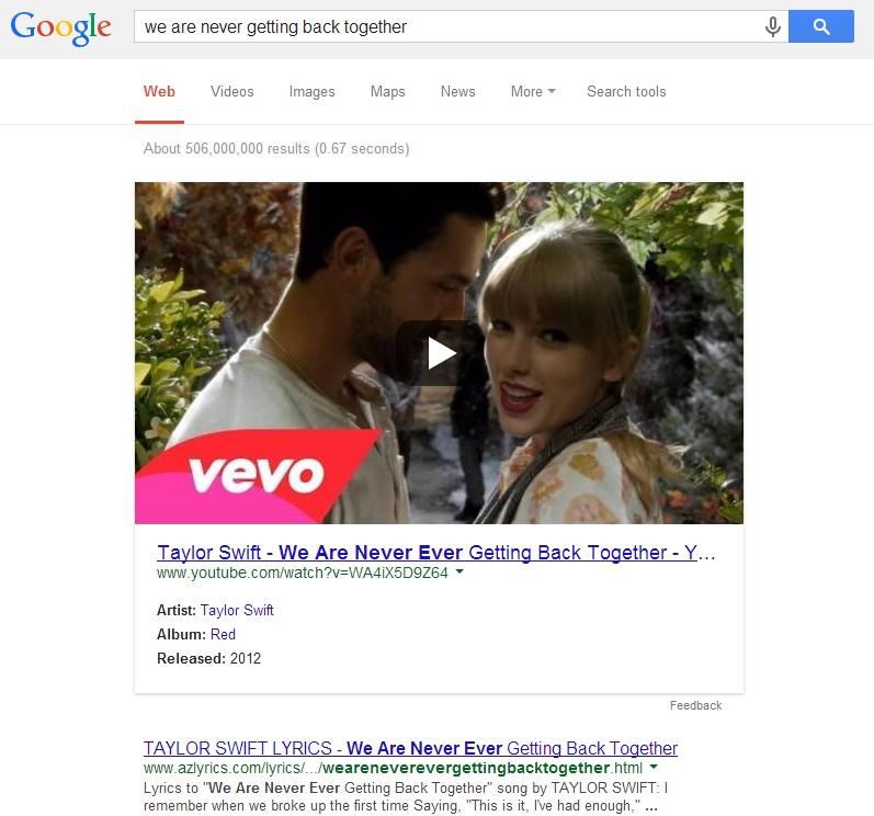 Google testing larger Video SERP