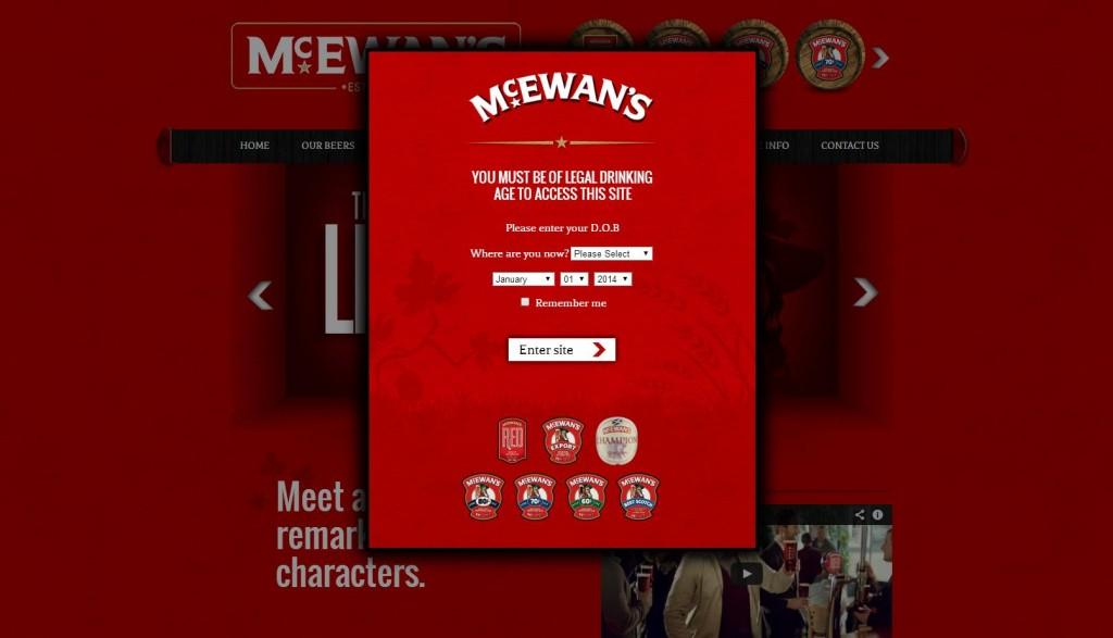 mcewans age verification, age verification and SEO