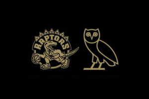The new OVO Raptors branding