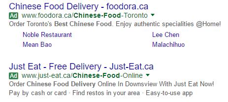 Google SERP Ads Go Green | Tug Agency