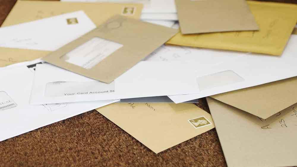 delivered letters