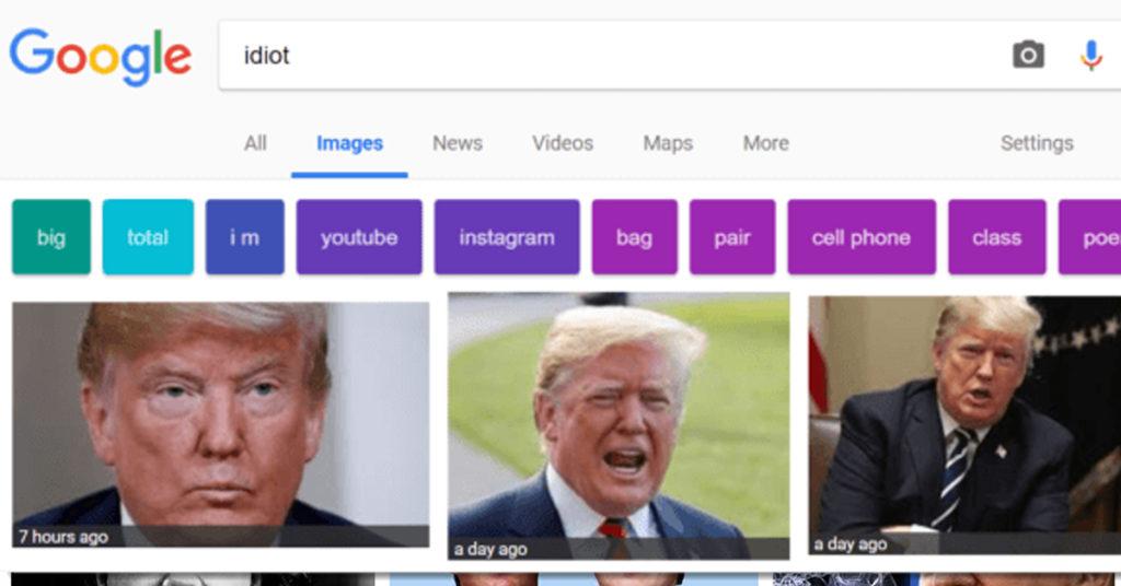 Idiot - Trump