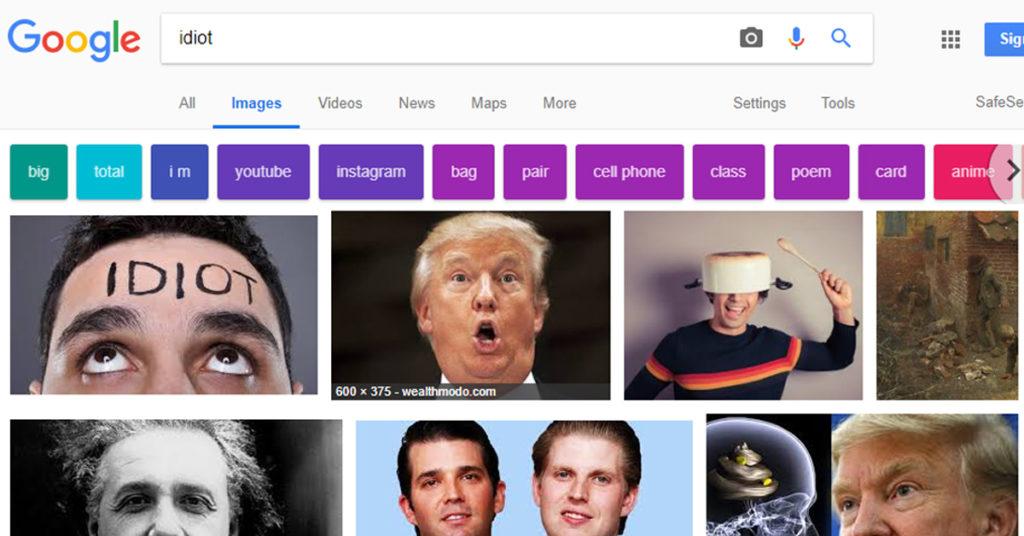 Trump-Idiot