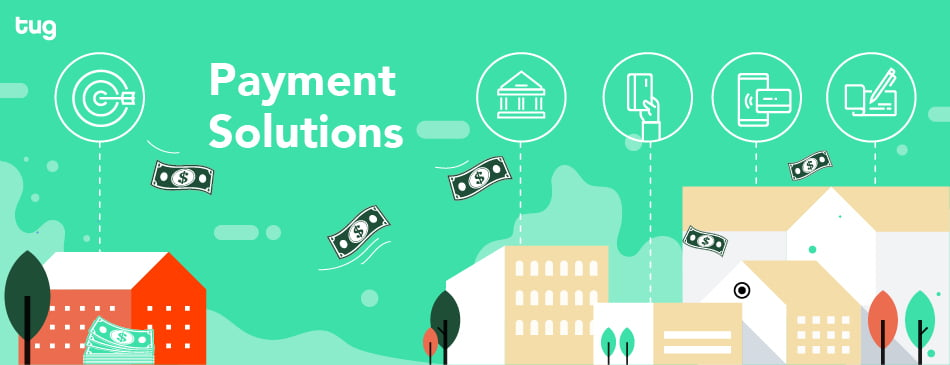Payment solution header